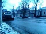 Ноу-хау по Николаевски -снег растаял машины пошли)))